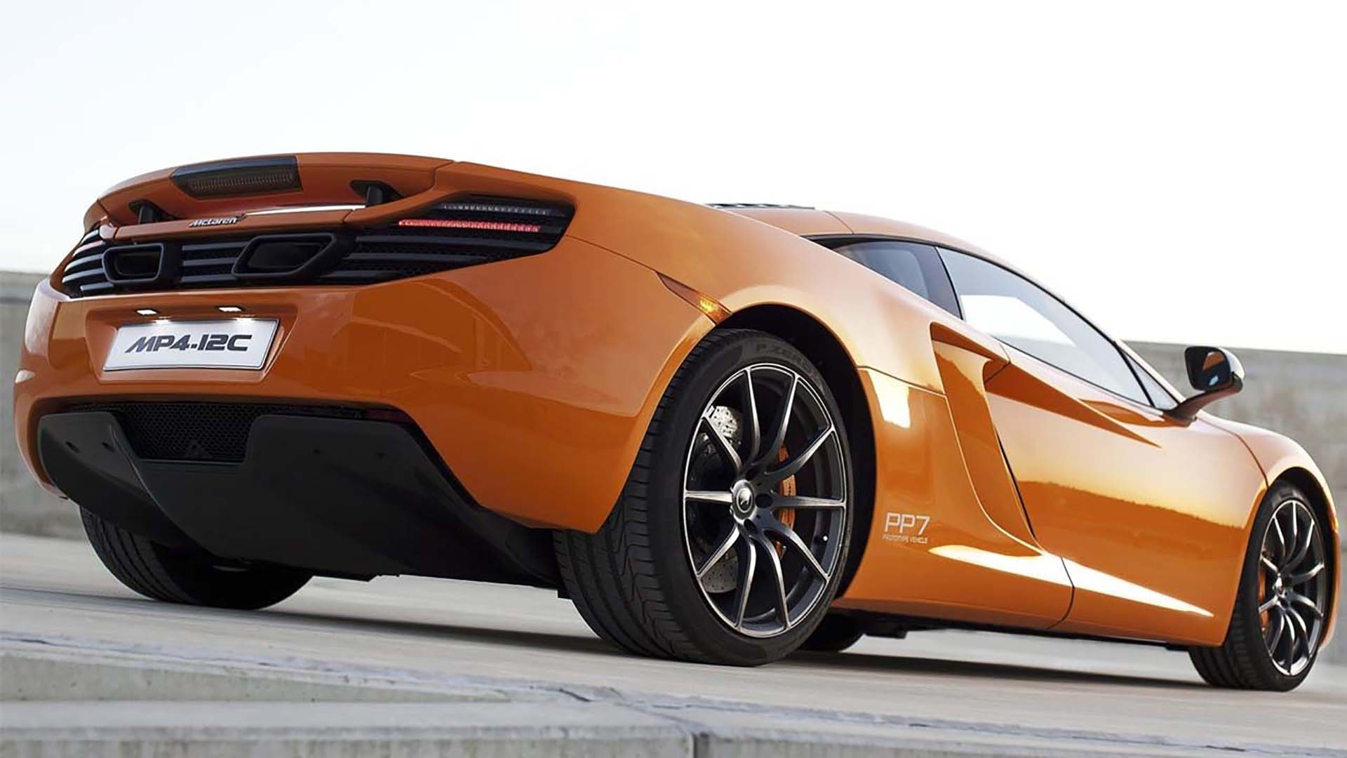 Mclaren MP4-12C Body Design & Engineering by ADP Special Projects