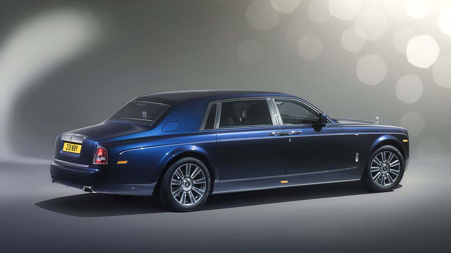 Rolls Royce Phantom Extended Wheelbase Luxury Rear Environment by ADP Special Projects