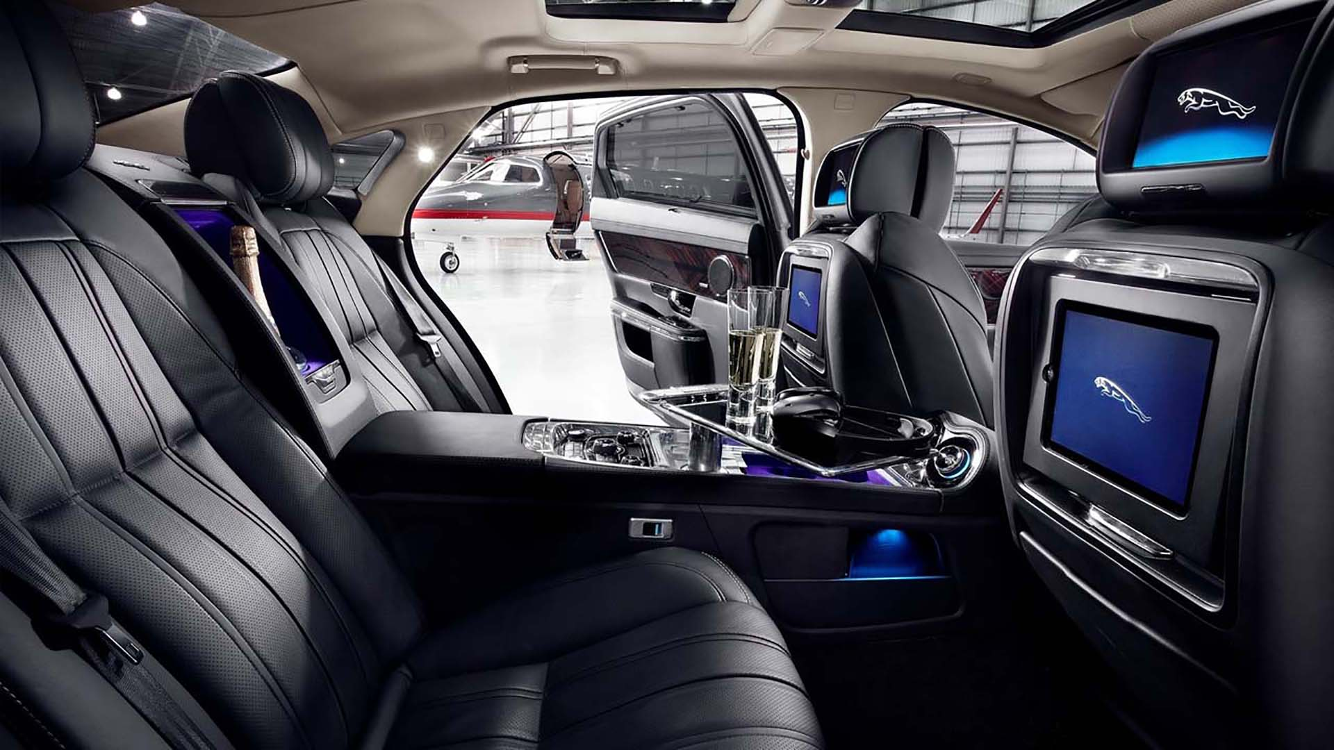 Jaguar XJ Ultimate Edition Luxury Rear Environment by ADP Special Projects