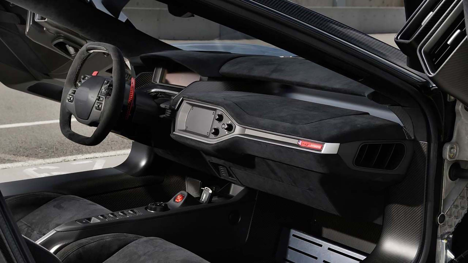 Ford GT Interior design by ADP Special Projects